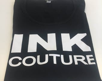 Ink Couture Tattoo Black Tank Top