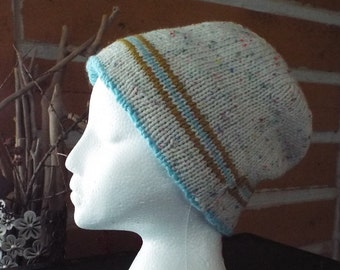 Knitted Reversible Hat