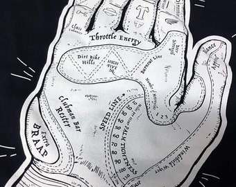 Palmistry of the Motorcycle T-shirt