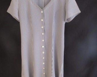 Dress vintage Gérard Darel blue size 40