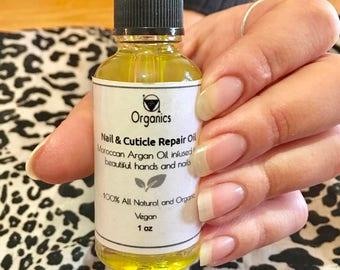 Moroccan Super Food Nail and Cuticle Repair Oil