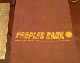 The Peoples Trust City Bank PA Canvas Bag