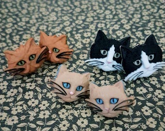 Crazy Cat Lady Earrings