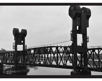 Prescott Rail Lift Bridge - Limited Print