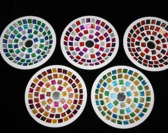 Small mosaic dish