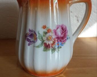 Vintage Pretty Floral Jug