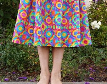 Rainbow girls skirt