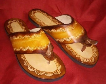 Sandals handmade
