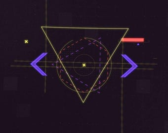 Video Intro or Outro, Geometric abstraction of the logo