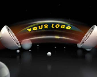 Video Intro or Outro, Logo from a billiard ball