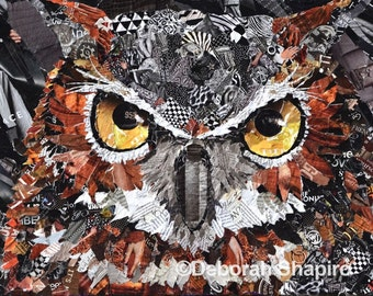 The Visionary Owl Giclee Print