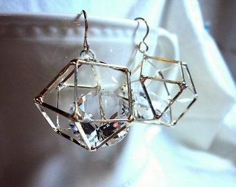 Silver Design - Geometric and Crystal