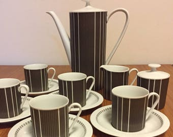 Coffee Set - Arzberg Delphi 13 piece Coffee Set (Germany)
