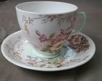 Old Royal China England est 1846 teacup and saucer