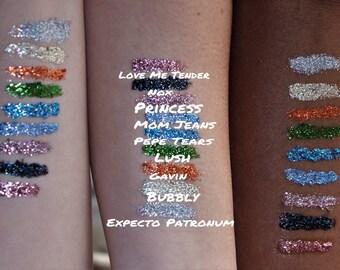 Pressed Glitter - I Tried Cosmetics