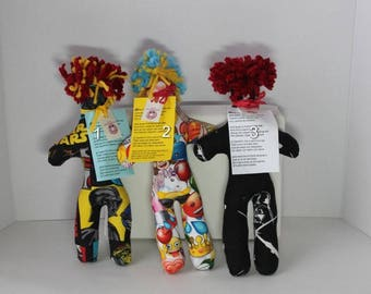 Novelty Fabric Stress Relief Doll