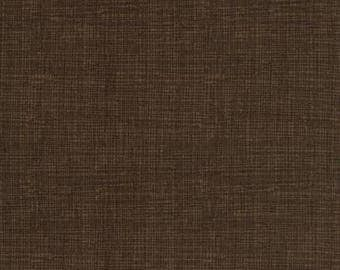 Texture Weave in Coffee // Quilters Cotton // Weave Texture