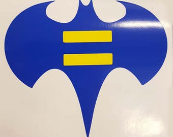 Bat equality Sticker