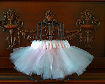 Sweet Spring Pale Pink and Ivory Tutu