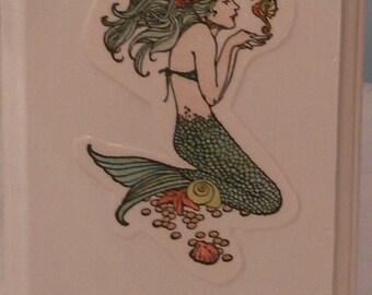Mermaid Decoupage Art