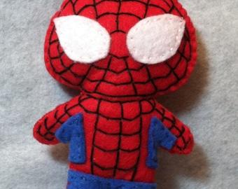 Felt Spider-man Plushie