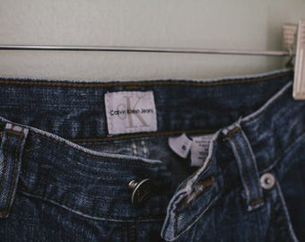 Vintage Women's Calvin Klein Jeans Size 8