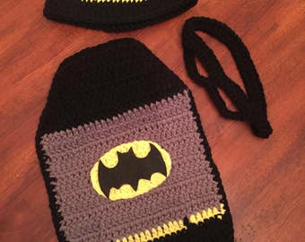 Batman inspired baby photography set