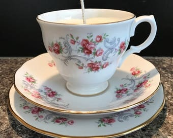 Soy Teacup Candle - Various Scents