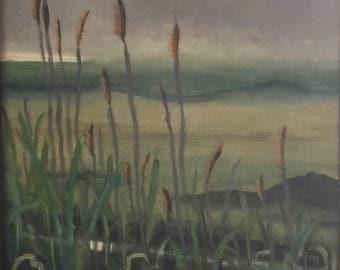 Morning Marsh...8x10 oil painting