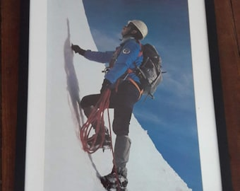 Vintage Poster - Climber