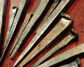 MEDIUM hand-forged Iron Nail