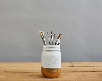 Split Tone Mason Jar (Pint)