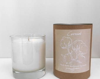 Scented Candle in Cotton
