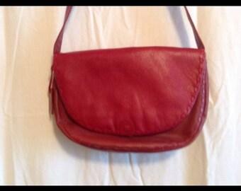 Etienne Aigner Purse Red Vintage Shoulderbag