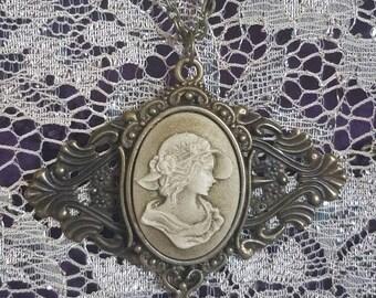 Victorian Vintage Cameo Necklace