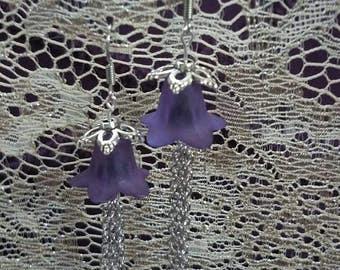 Dancing Purple Flowers