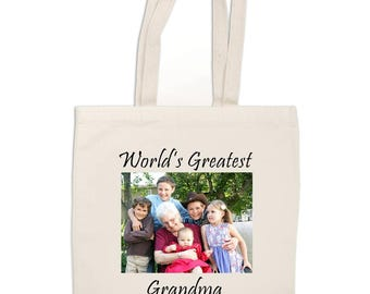 Custom full color printed Tote bags