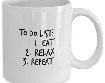 coffee mug to-do list