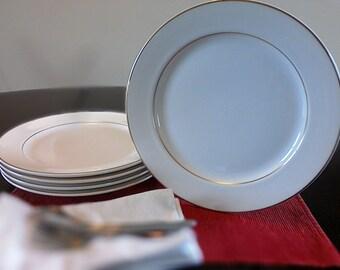 """Homer Laughlin """"Pristine"""" Dinner Plates"""