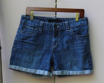 Calvin Klein Dark Wash Denim Shorts