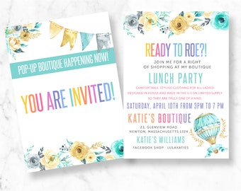 launch party | etsy, Party invitations