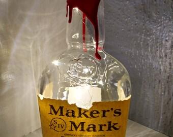 Makers Marks Cordless liquor lamp