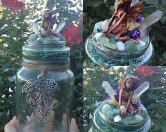 Mega magical fairy wishing jar