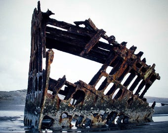 Fort Steven's Shipwreck Print