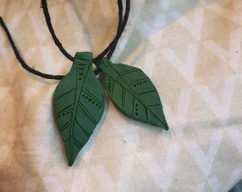 Simple Leaf Pendants