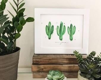 Arizona Saguaro 8x10 Print