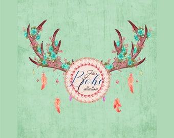 Chic Logo, Boho Logo, Jewelry Logo Design, Vintage Logo Design, Bohemian Logo Design, Artistic Logo Design, Unique Logo, Business Logo
