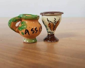 Miniature Dolls House Pottery
