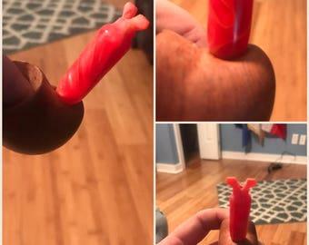 Custom tobacco pipe