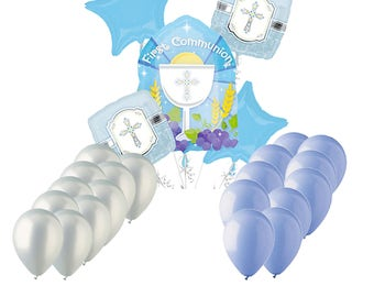 Communion Balloons for Boys and Girls